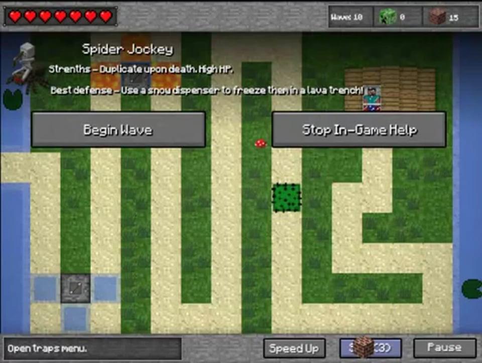 Play Minecraft Tower Defence Yoob The Best Free Online Games - Minecraft spiele online gratis